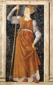 Tomyris, by Castagno. 15th Century