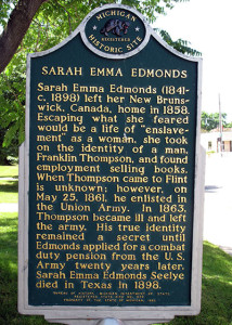 A memorial to Sarah in Michigan.